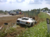 First Lamborghini Aventador Crash