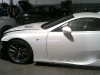 First Production Lexus LFA Crash