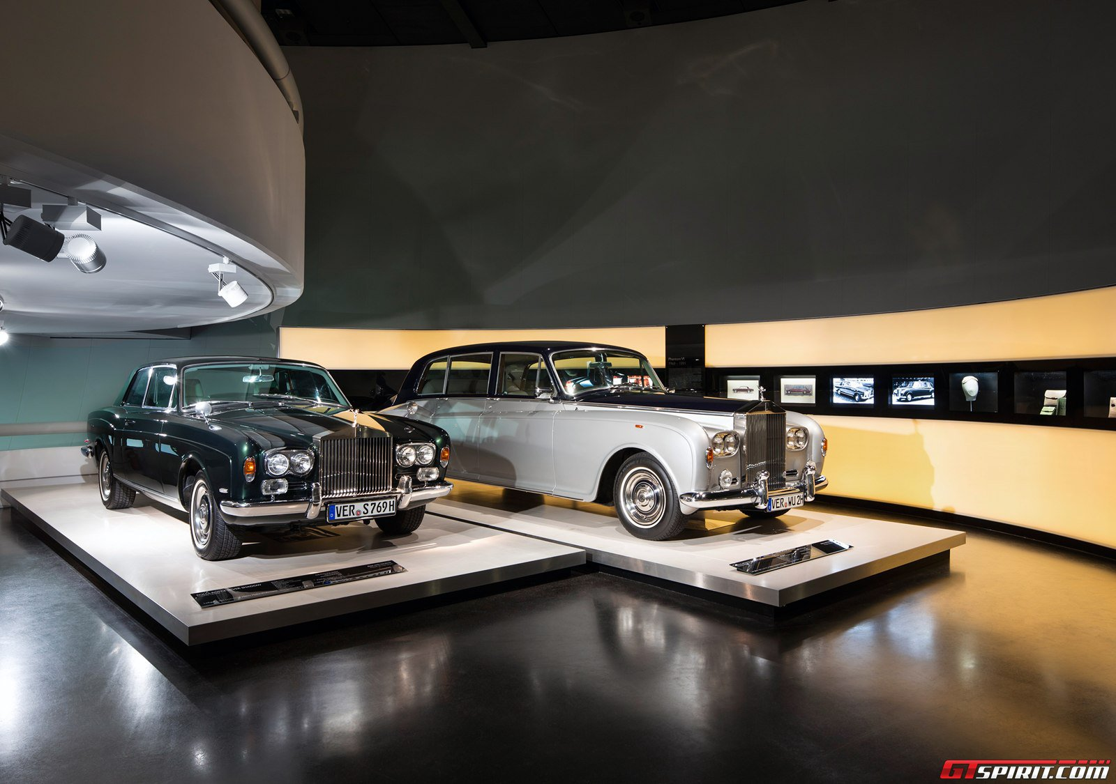 first rolls royce exhibition opens at bmw museum in munich. Black Bedroom Furniture Sets. Home Design Ideas