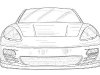 First Drawnings of the Porsche Panamera Convertible