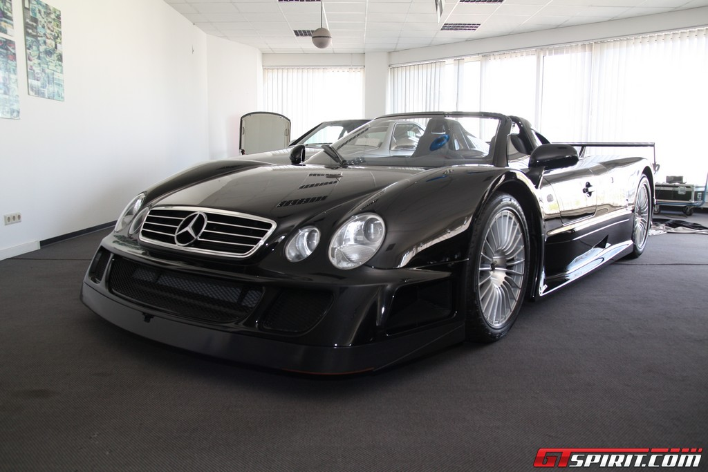 for sale mercedes benz clk gtr roadster in black gtspirit