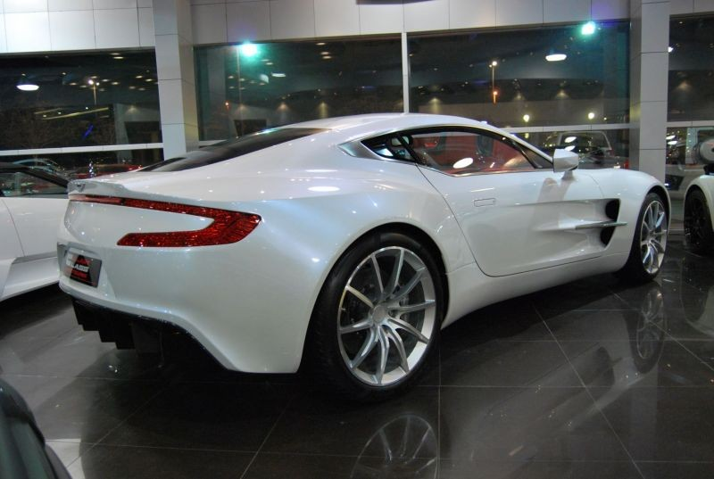 thread for sale white aston martin one 77 at alain class motors. Black Bedroom Furniture Sets. Home Design Ideas