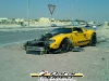 Car Crash Ford GT wrecked in Qatar