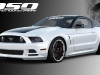 Four Special Mustangs at SEMA 2012 Ford Booth
