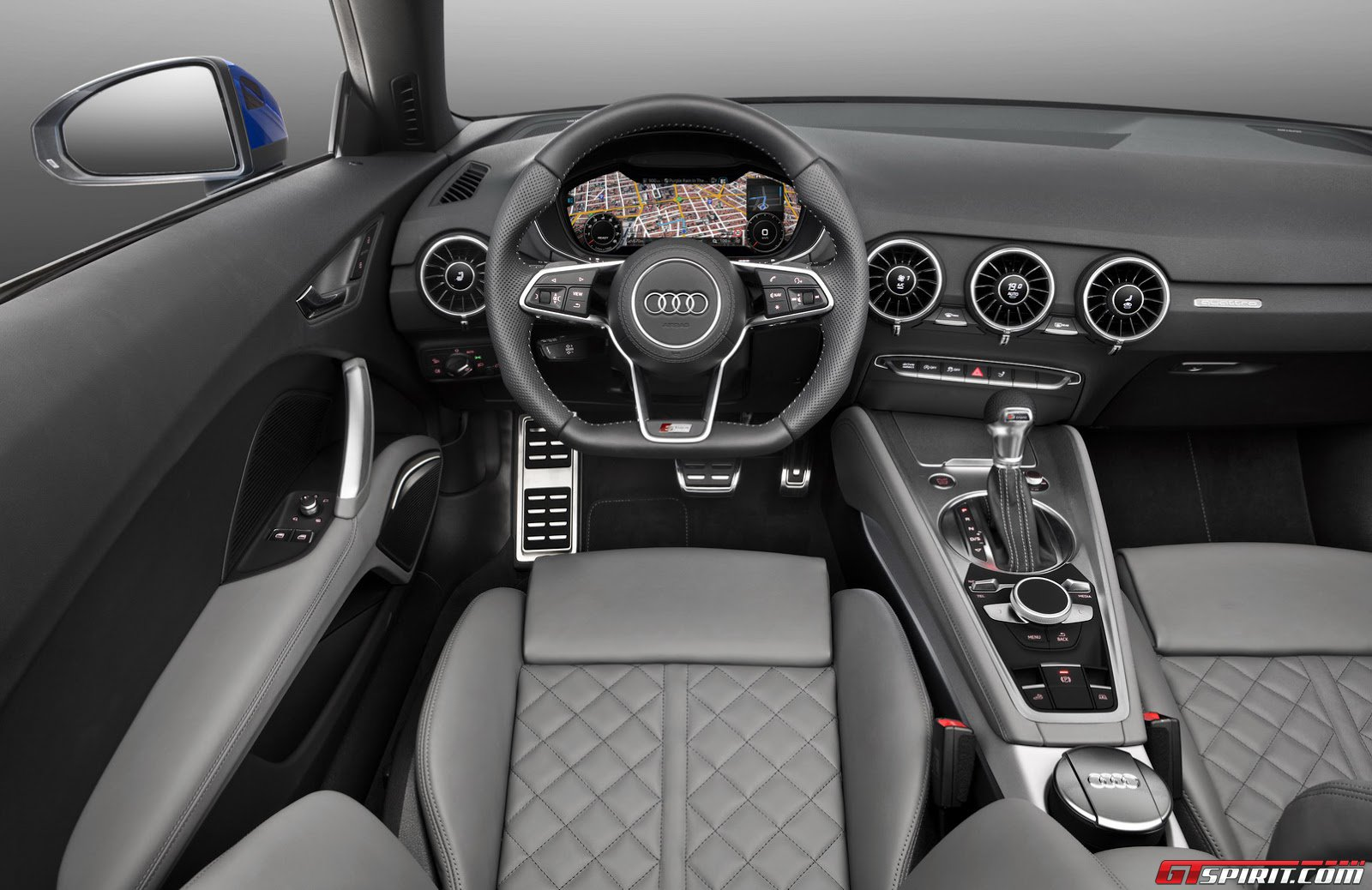 2017 Mercedes Benz SLC 43 Interior further 2015 Audi TTS Coupe in ...