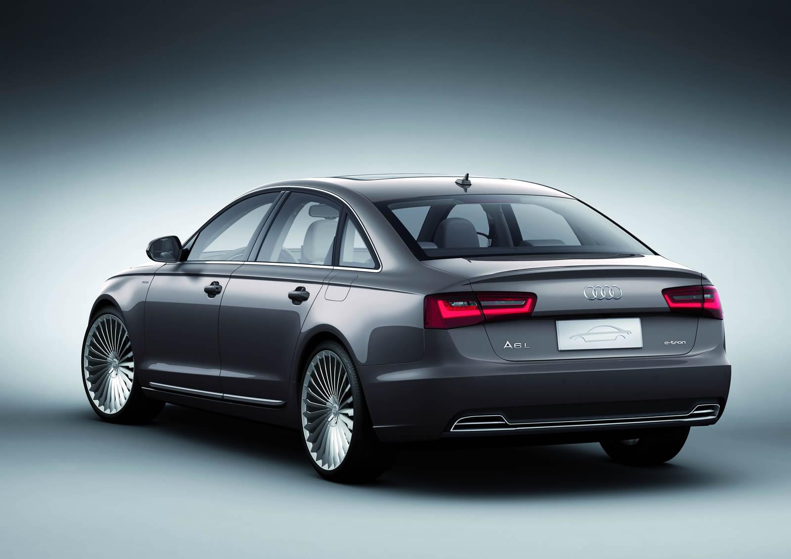 Audi A6 L e-tron. Концепт 2012 года