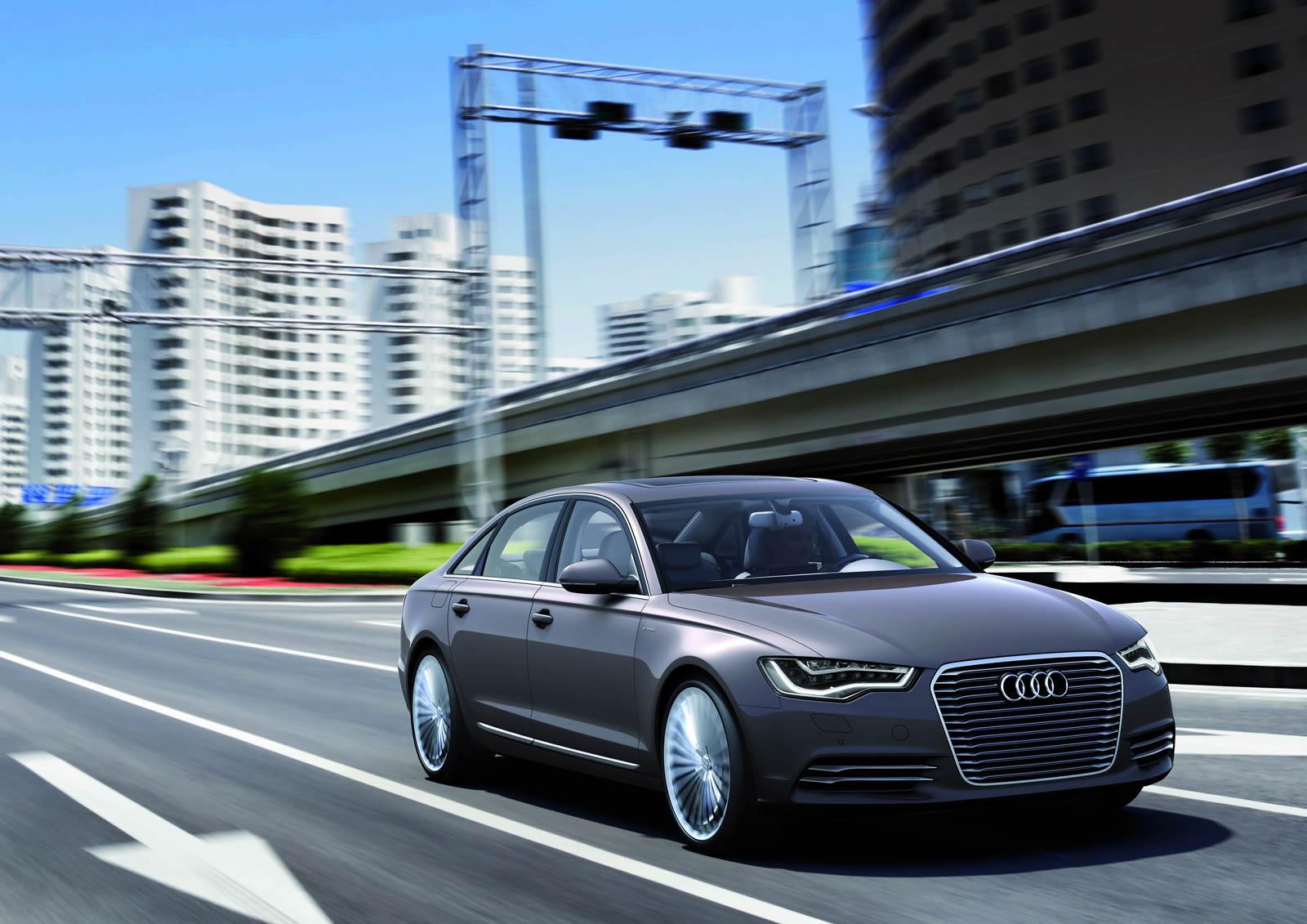 Шанхайский концепт Audi A6 L e-tron 2012 года