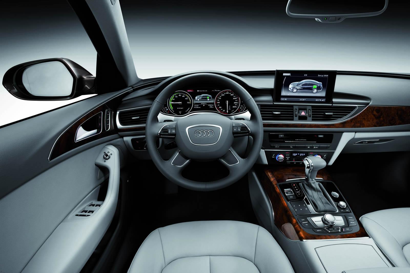 Салон Audi A6 L e-tron. Концепт 2012 года