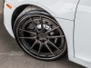 "Grey Audi R8 V10 on 20"" Brixton Forged M53 Targa Series forged wheels finighed in brushed smoke black"