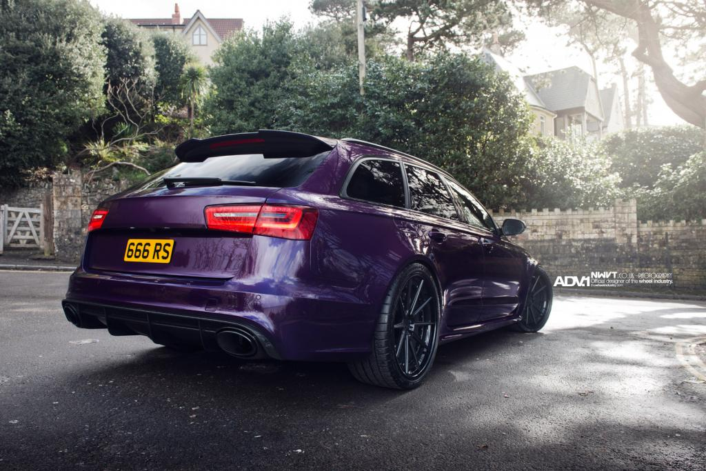 I M Really Not Into Audi Outside The R8 But This Purple