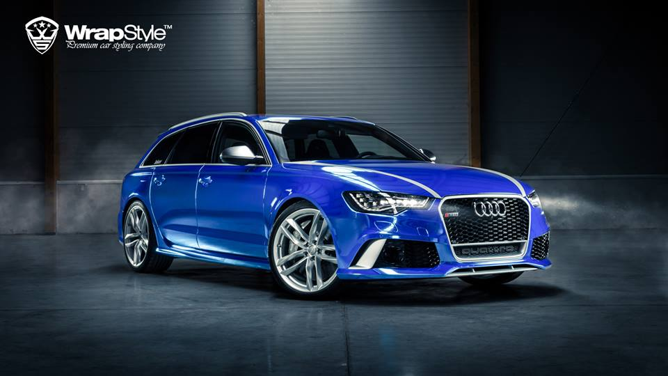 2014 wrapstyle audi rs6 avant dark cars wallpapers. Black Bedroom Furniture Sets. Home Design Ideas