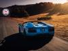 Blue Lamborghini Aventador Roadster HRE Wheels