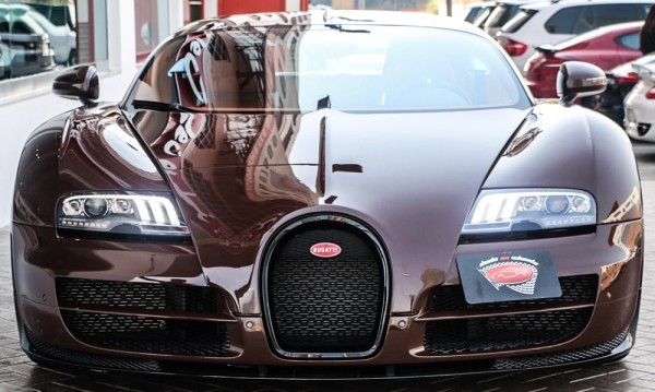 unique brown bugatti veyron super sport for sale in uae. Black Bedroom Furniture Sets. Home Design Ideas