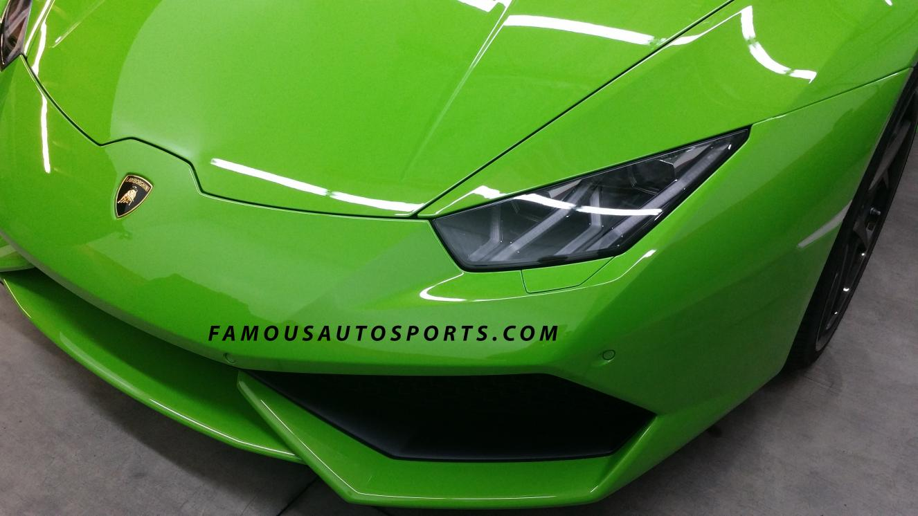famous autosport reveals special lamborghini huracan before sema 2014. Black Bedroom Furniture Sets. Home Design Ideas