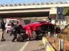 Ferrari California crash
