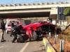 Ferrari California crash