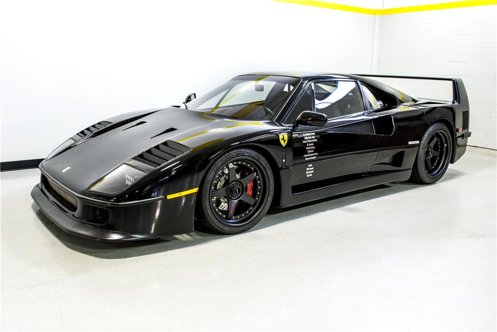 la ferrari f40 du gas monkey garage aux ench res ferrari challenge 288 gto f40 f50. Black Bedroom Furniture Sets. Home Design Ideas