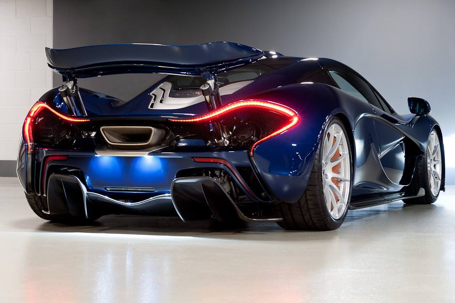 mclaren p1 in genesis blue. Black Bedroom Furniture Sets. Home Design Ideas