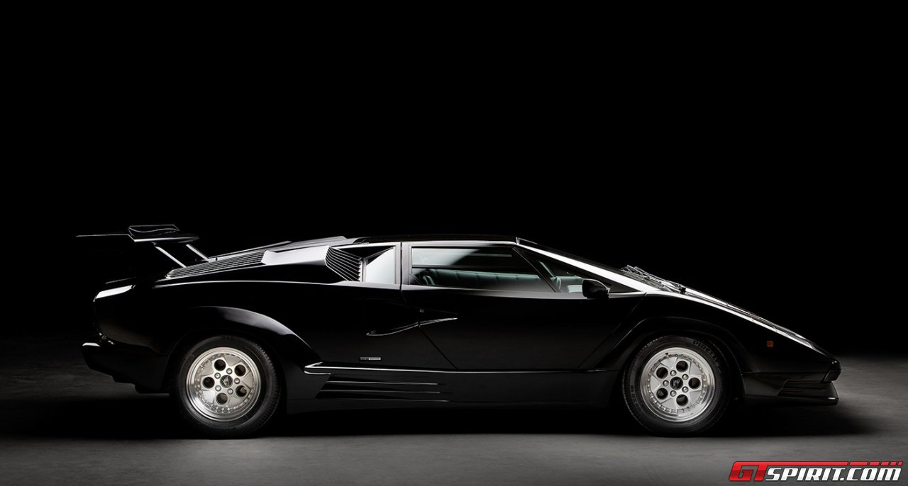 Untouched 1990 Lamborghini Countach 25th Anniversary Edition For Sale