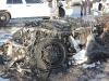 Lamborghini Gallardo on Fire