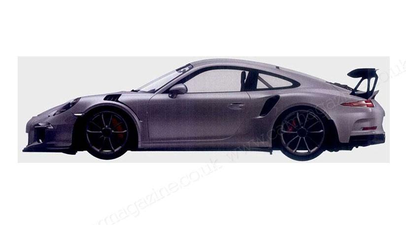 Патентное фото | Порше 911 ГТ3 РС нового поколения