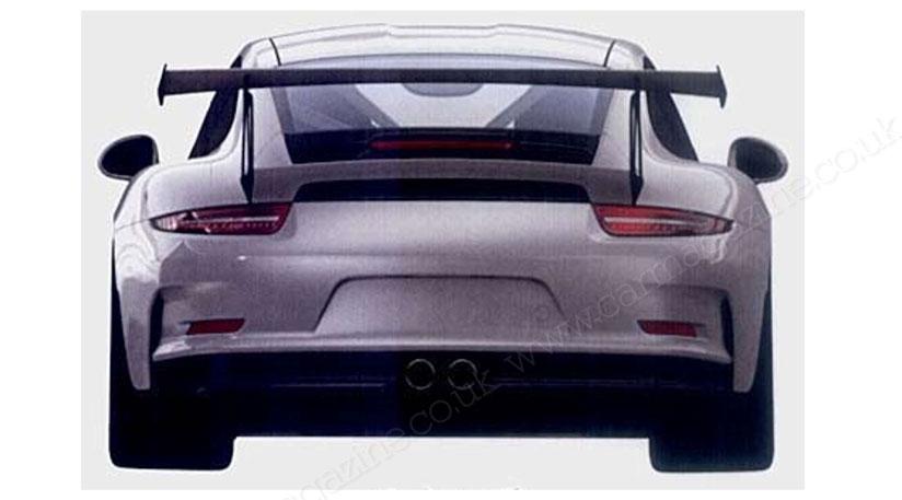 Патентное фото | Порше 911 ГТ3 РС. 2014 год