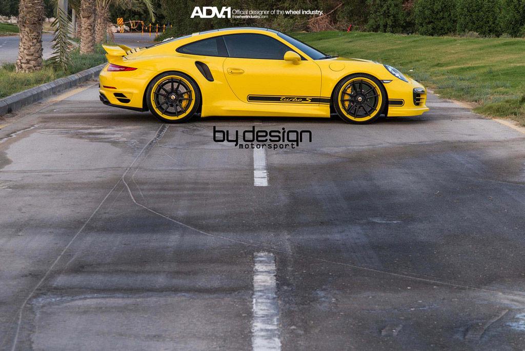 Тюнинг Porsche 911 Turbo S от ByDesing Motorsport