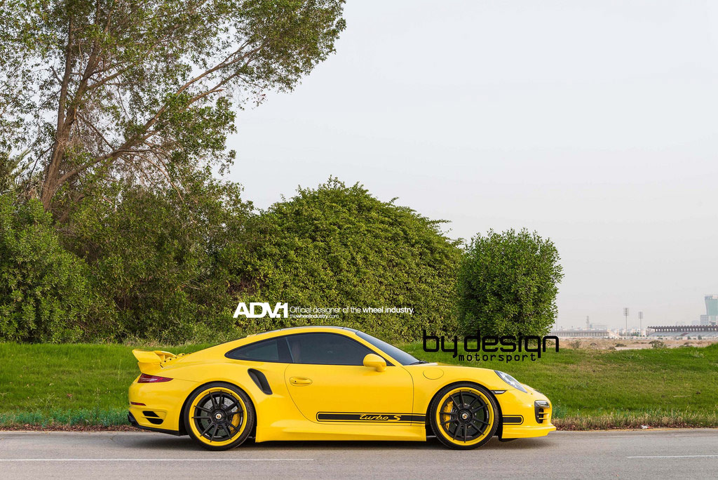 Porsche 911 Turbo S на дисках ADV5.2 TS SL