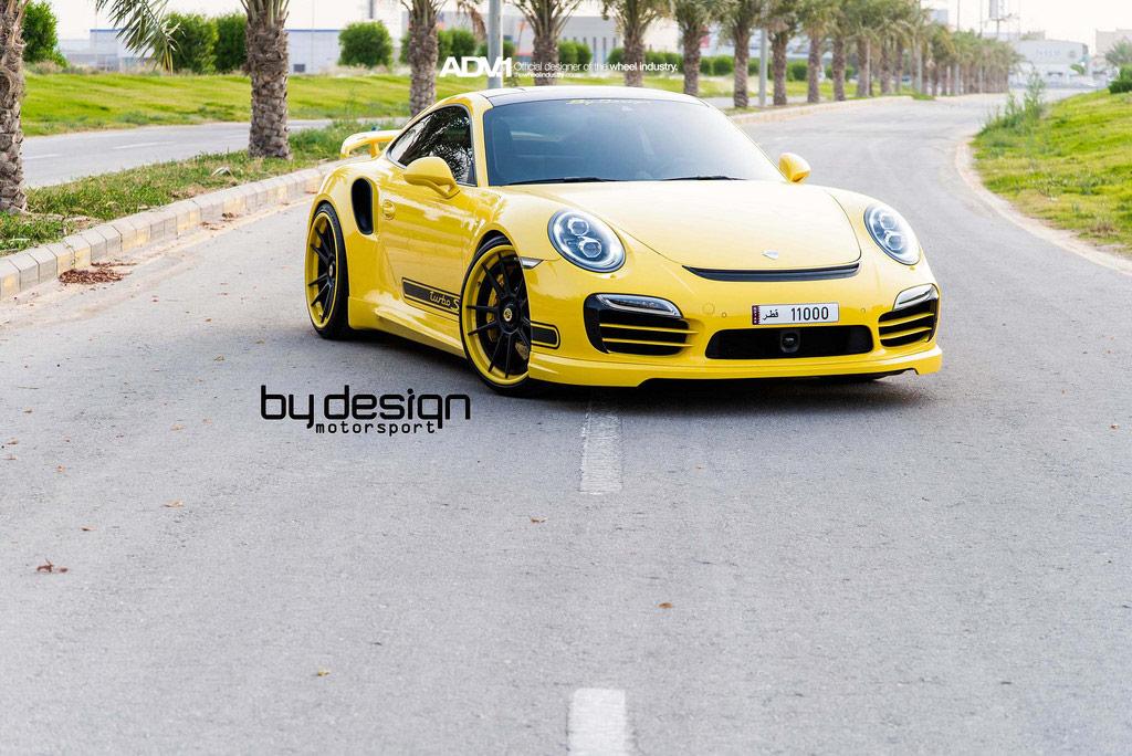 Новый тюнинг Porsche 911 Turbo S