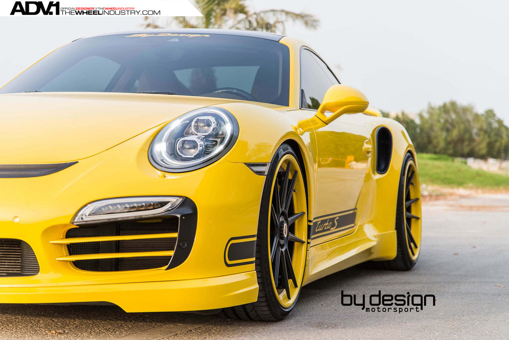 Porsche 911 Turbo S. Тюнинг от ByDesign Motorsport