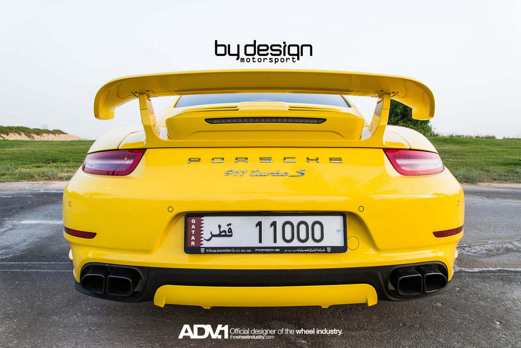 Porsche 911 Turbo S от ByDesign Motorsport