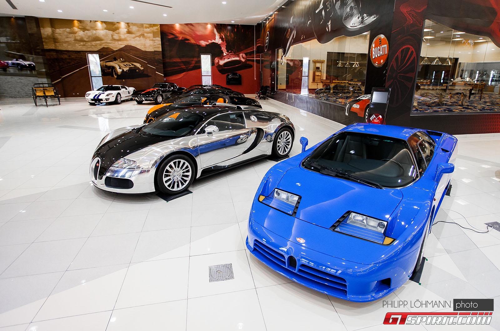 Гараж мечты в Абу-Даби. Bugatti Veyron и Bugatti EB110
