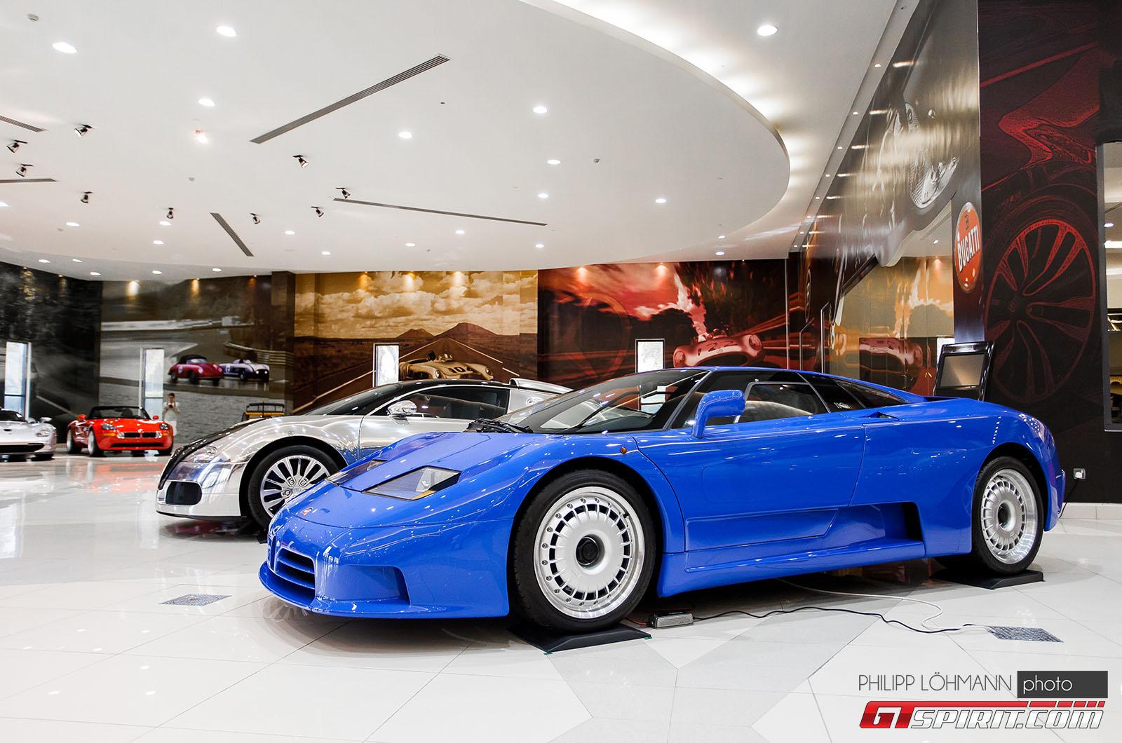 Гараж мечты в Абу-Даби. Bugatti EB110