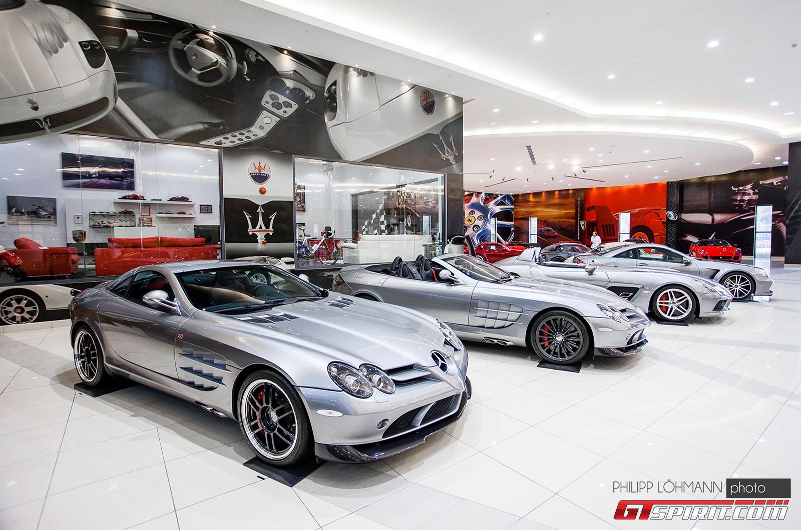 Гараж мечты в Абу-Даби. Mercedes-Benz SLR McLaren 722 Edition