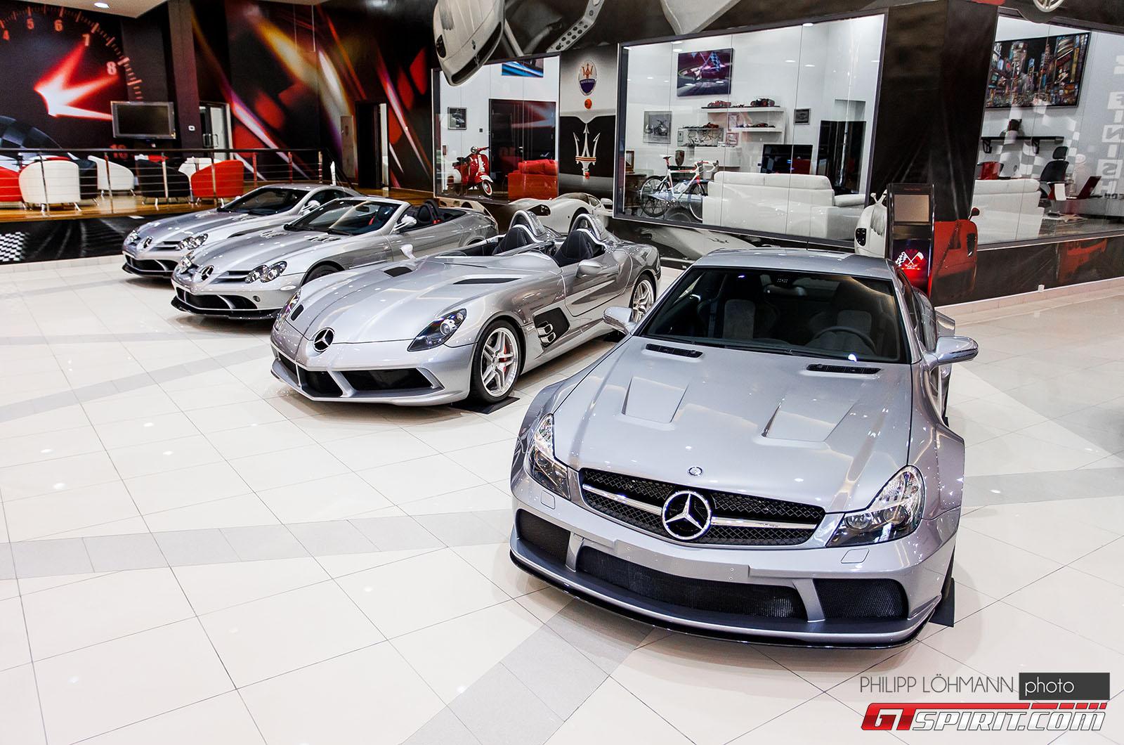 Гараж мечты в Абу-Даби. Mercedes-Benz SL65 Black Series