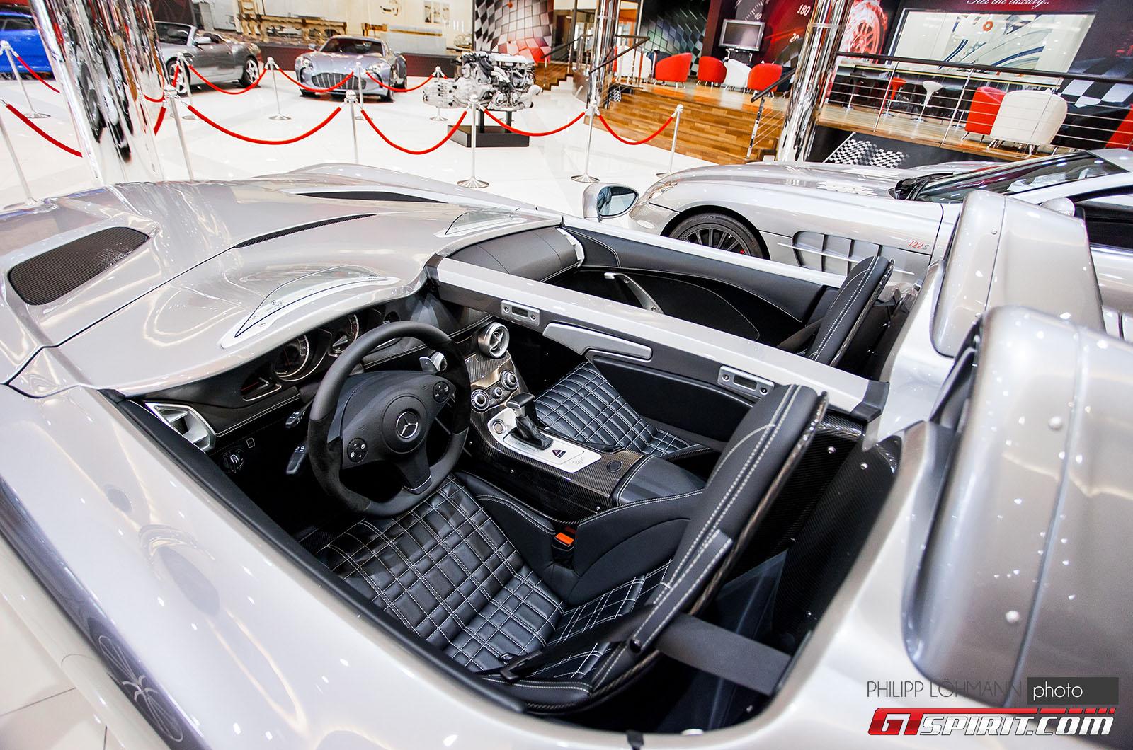Гараж мечты в Абу-Даби. Mercedes-Benz SLR Stirling Moss