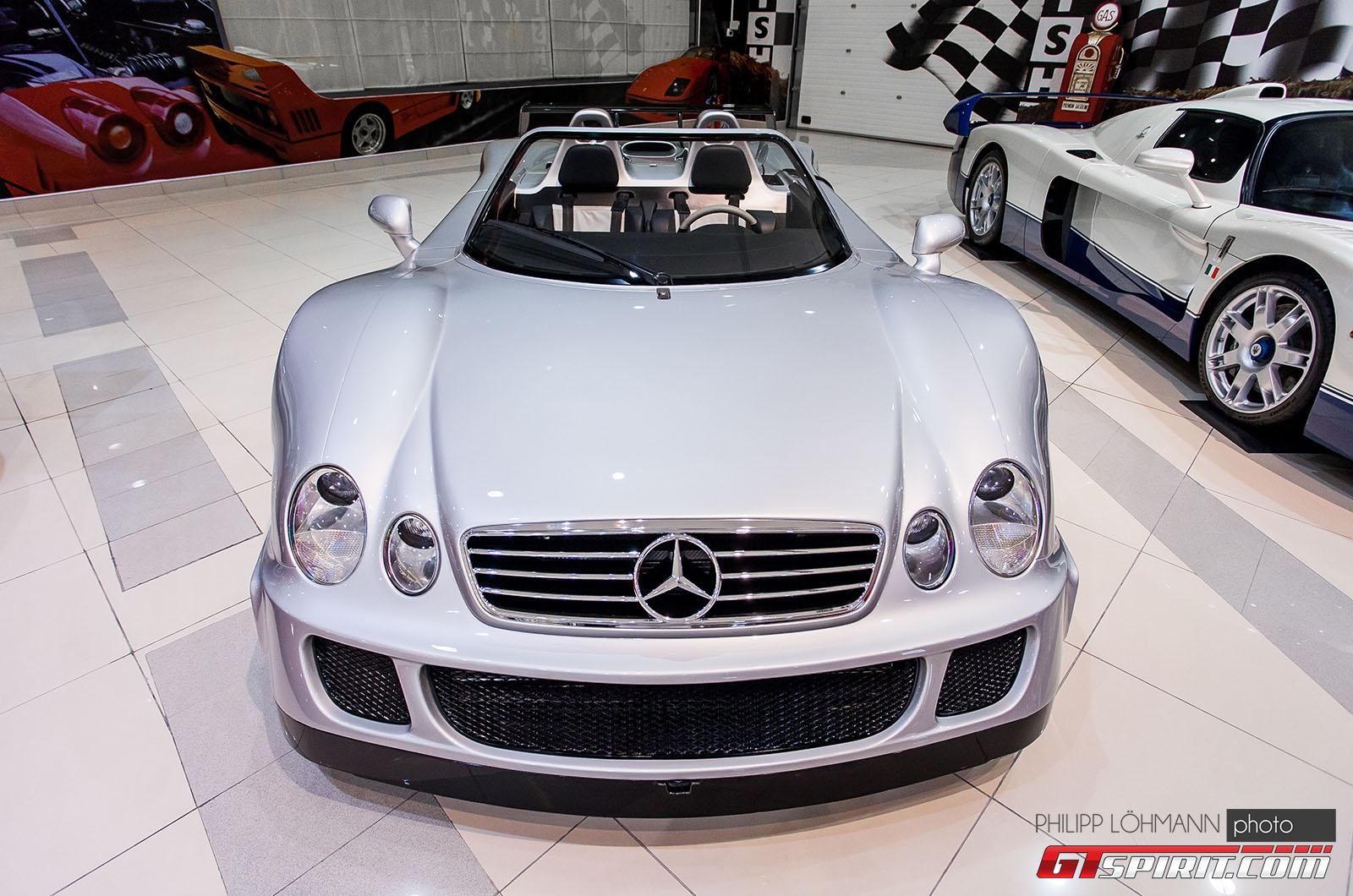 Гараж мечты в Абу-Даби. Mercedes-Benz CLK GTR Roadster