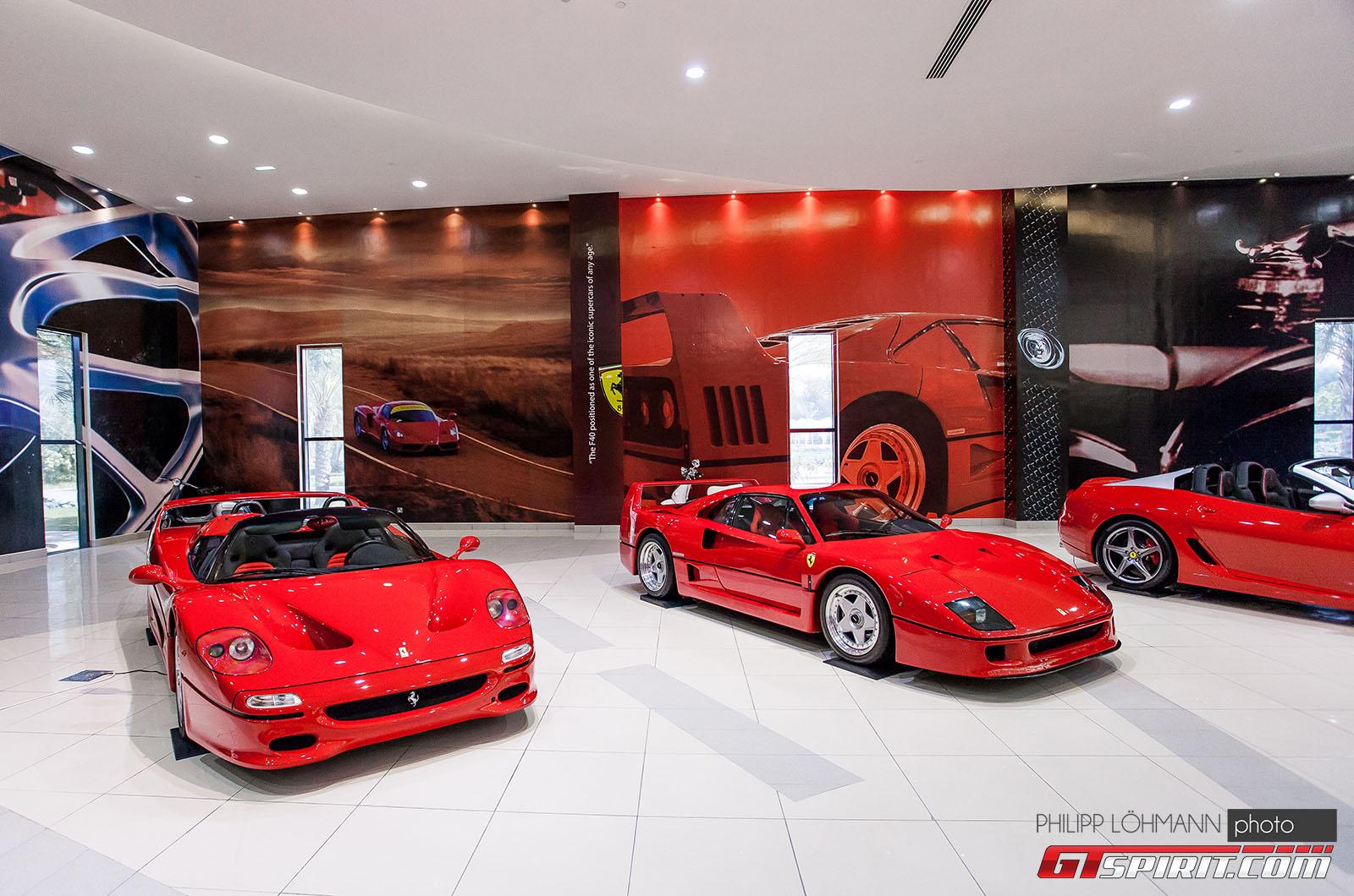 Гараж мечты в Абу-Даби. Ferrari F50