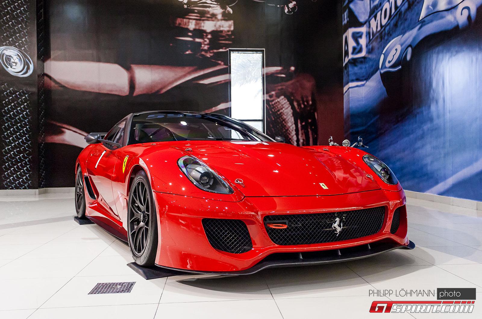 Гараж мечты в Абу-Даби. Ferrari 599XX