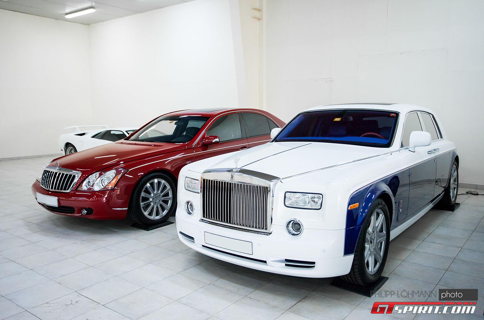 Гараж мечты в Абу-Даби. Rolls-Royce Phantom