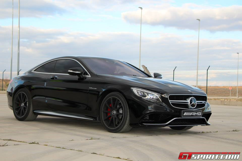 stunning black on black mercedes benz s 63 amg coupe