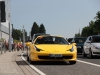 Supercars Around the Track during F1 Race at the Nurburgring