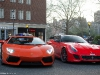 Supercars in London