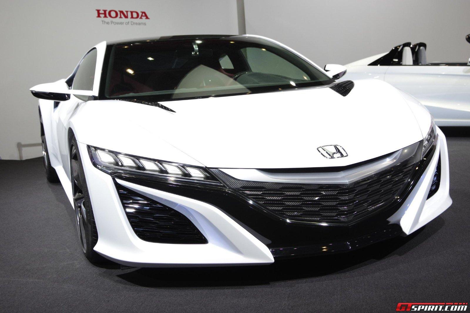 Tokyo 2013 White 2015 Honda Nsx Concept Gtspirit