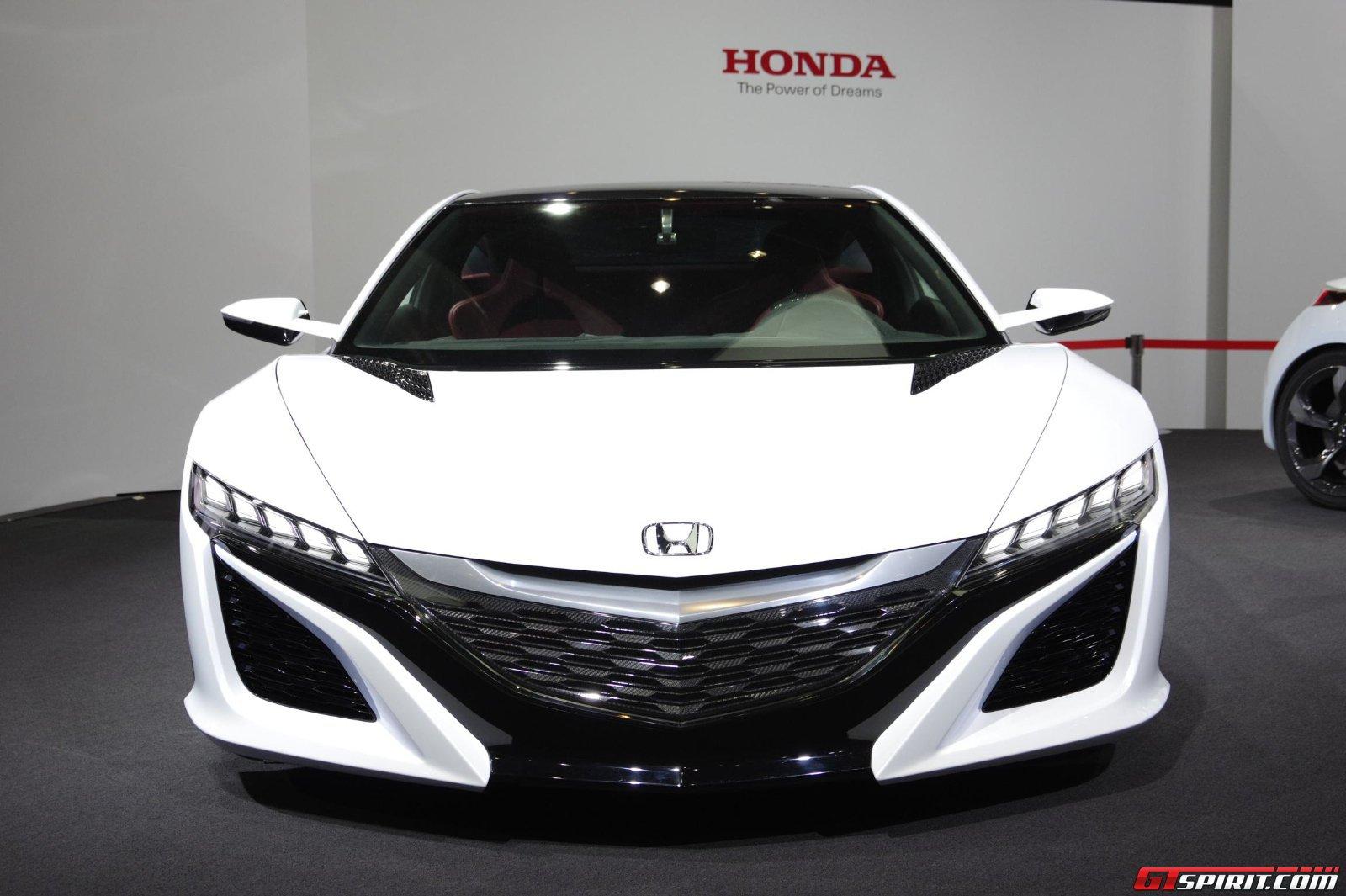 Gallery Tokyo 2013 Honda Nsx 8 Photos Gtspirit Accord Knock Sensor Location Concept In White Live
