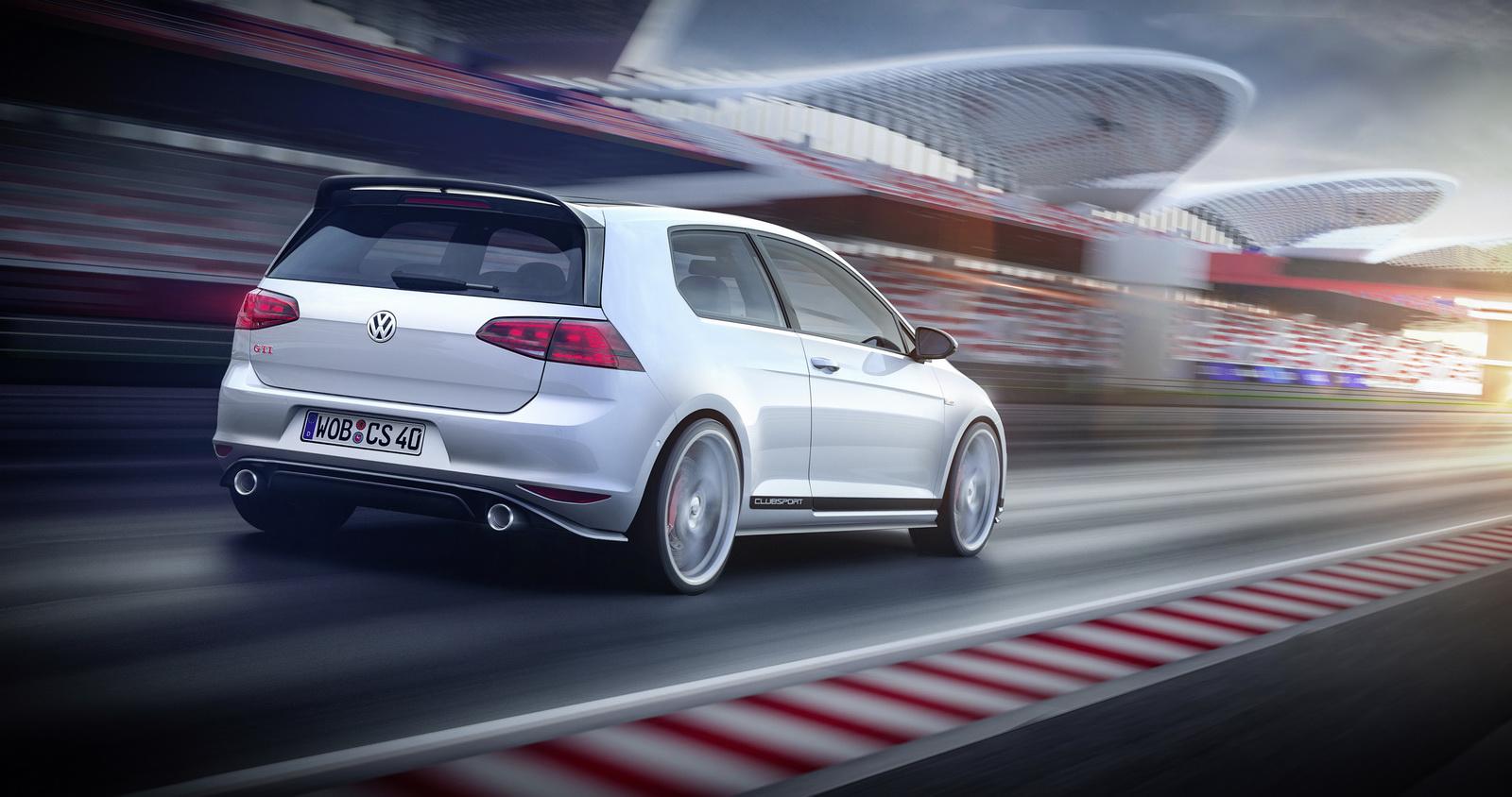 Gallery Volkswagen Golf GTI Clubsport Concept - 8 photos - GTspirit