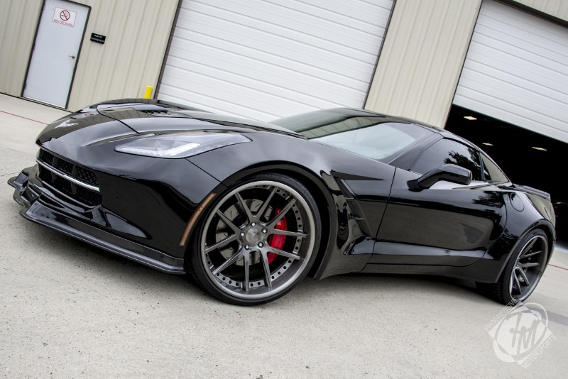 unique widebody black c7 corvette stingray for sale car interior design. Black Bedroom Furniture Sets. Home Design Ideas
