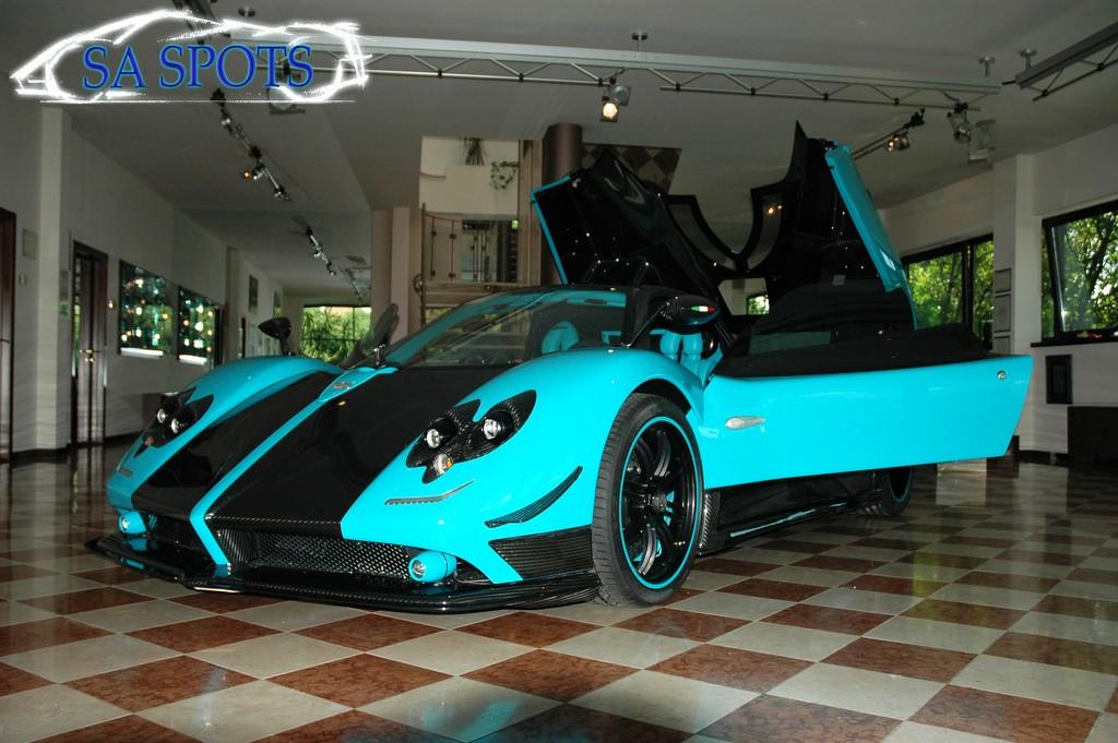 Gallery Pagani Zonda Uno Yellow Cinque Roadster No 4 5 Gtspirit