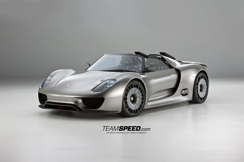 gallery porsche 918 spyder concept. Black Bedroom Furniture Sets. Home Design Ideas