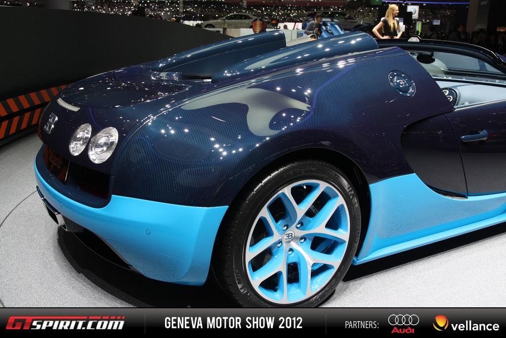 Geneva 2012 Bugatti Veyron Grand Sport Vitesse 008